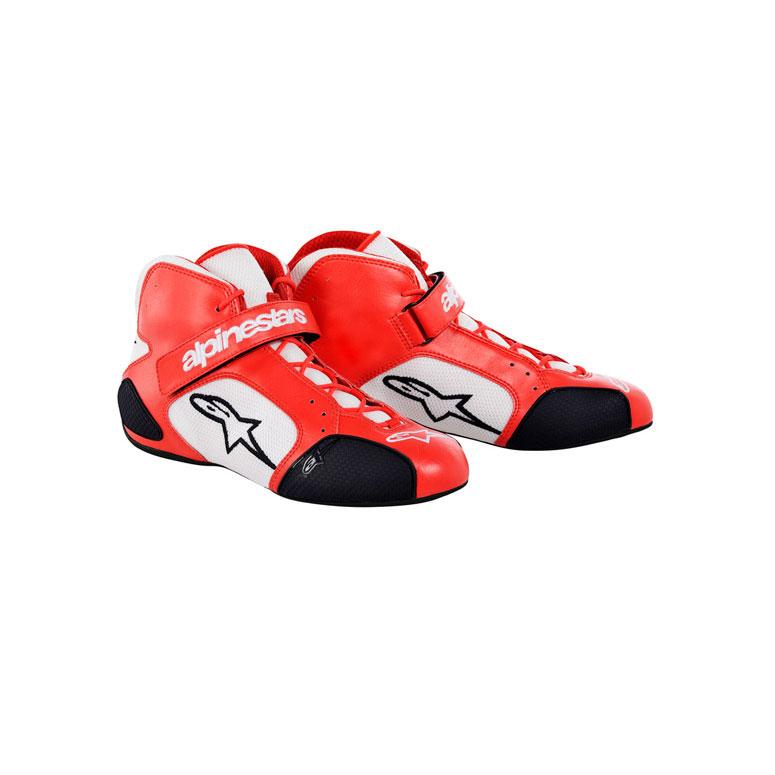 Alpinestars 2712013-241-3.5 White//Orange//Black Size-3.5 Tech 1-K Karting Shoes