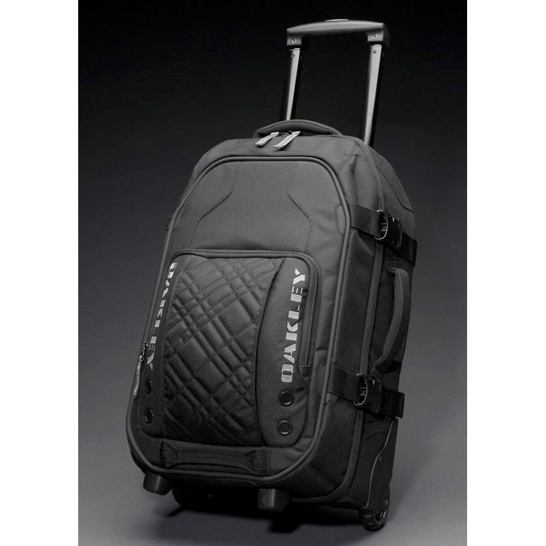 Oakley - Carry On Roller - Luggage Bag - RacingDirect.com
