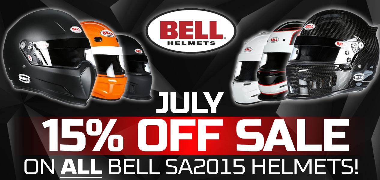 Bell July 15% Off Sale