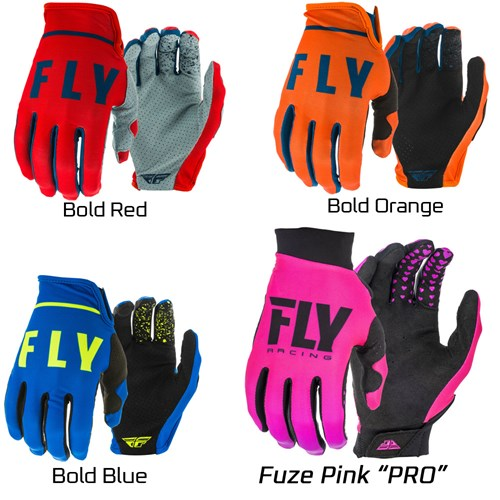 Fly Racing - UltraLite Kart Gloves - Closeout! - A1195