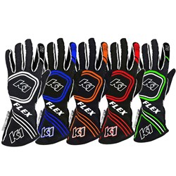 K1 - Flex SFI/FIA Rated Auto Racing Gloves