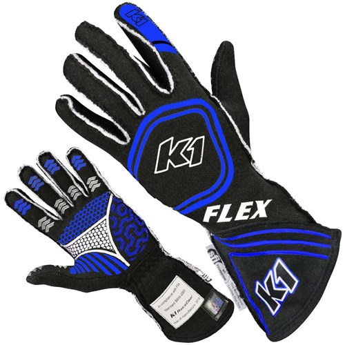 K1 - Flex SFI/FIA Rated Auto Racing Gloves - A0163