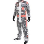 K1 - One-Piece Clear Kart Rain Suit