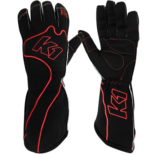 K1 - RS-1 Reverse Stitched Kart Racing Gloves - A0461