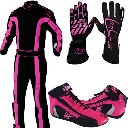 K1 - SFI-1 Stage 2 Auto Racing Package - Women's - A3513