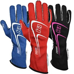 K1 - Track-1 Nomex SFI-5 Auto Racing Gloves