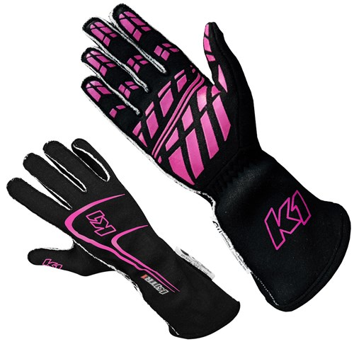 K1 - Track-1 Nomex SFI-5 Auto Racing Gloves - A3631