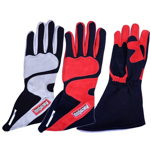RaceQuip - 358 Long-Cut SFI-5 Auto Racing Gloves - A3618