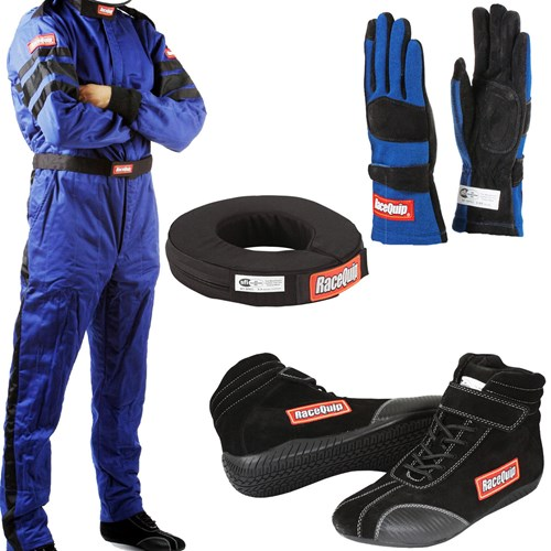 RaceQuip - SFI-5 Auto Racing Package - 1-Piece - A3509